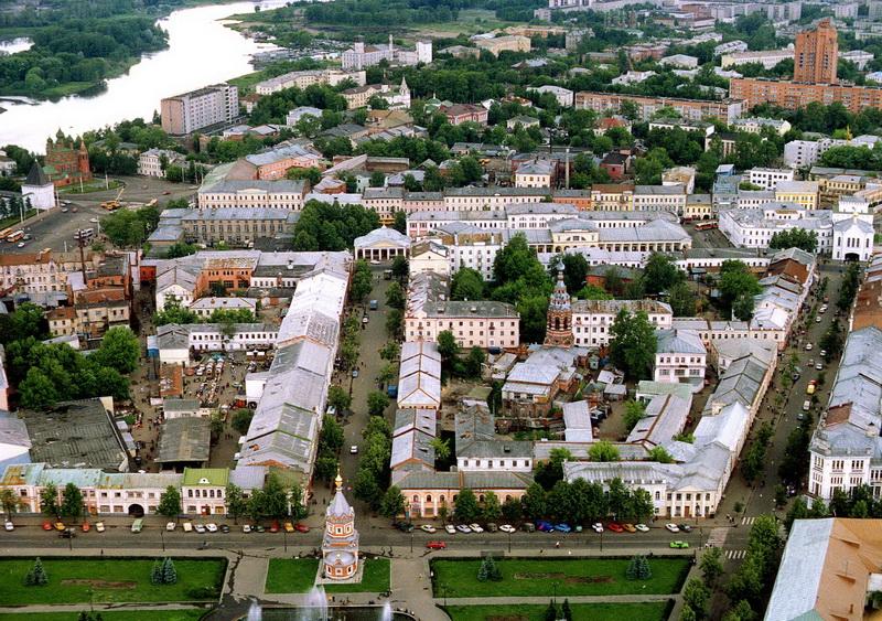 Ярославль фото сверху